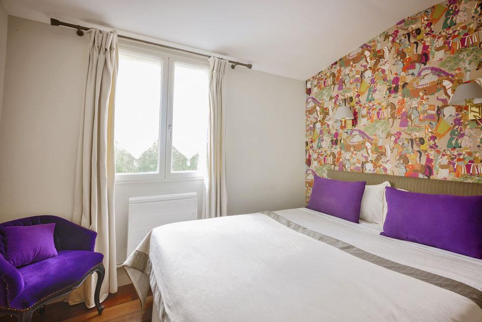 Chaque chambre dispose d'un lit king size - Villa Victor Louis