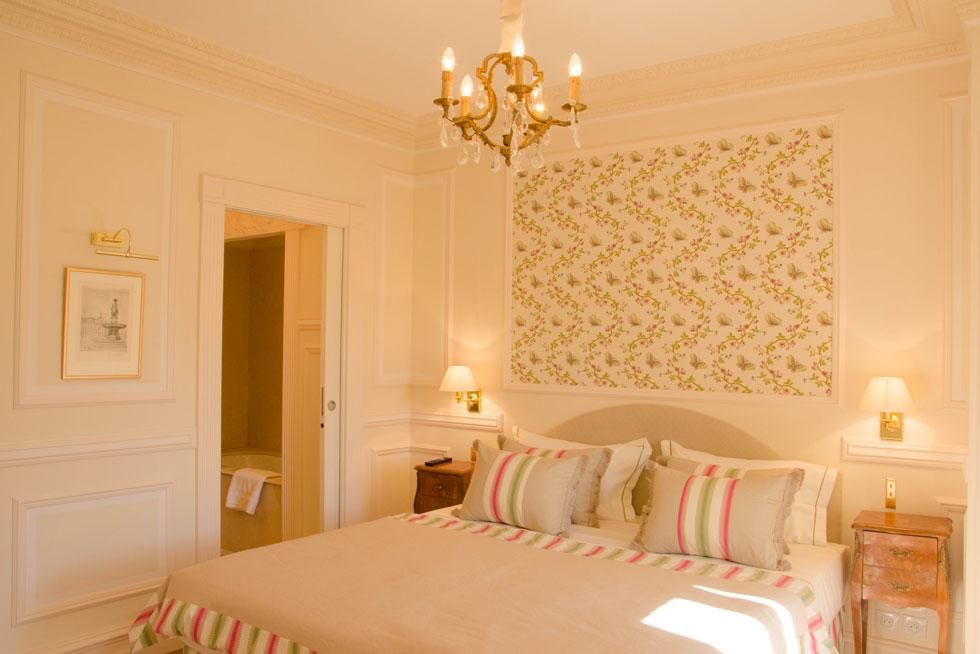 Une chambre Supérieure dans des tons ensoleillés - Villa Victor Louis