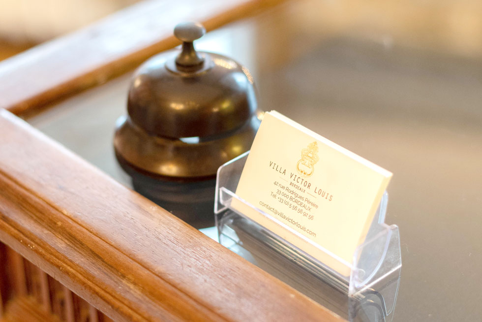 A votre écoute pour vous recommander nos meilleures adresses - Villa Victor Louis