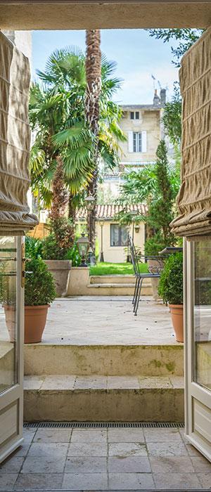 Entrevue du jardin secret - Villa Victor Louis