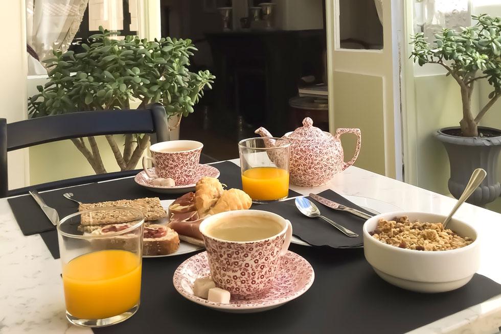 A l'heure du petit-déjeuner - Villa Victor Louis