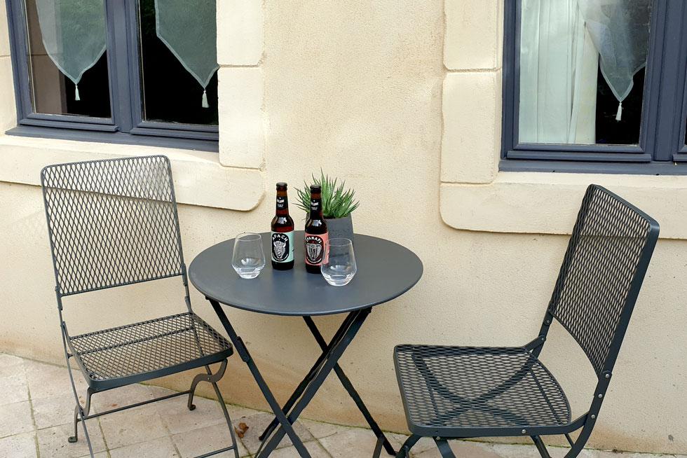 Terrasse privée de l'Appartement pour profiter de chaque rayon de soleil - Villa Victor Louis