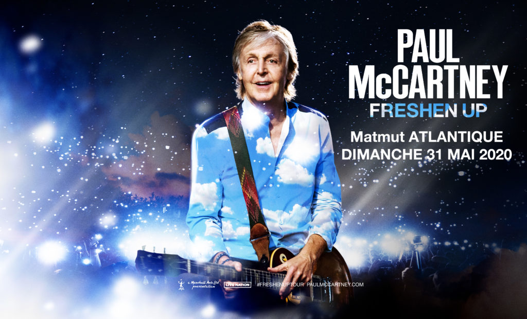 Paul Mccartney concert in Bordeaux May 31st 2020