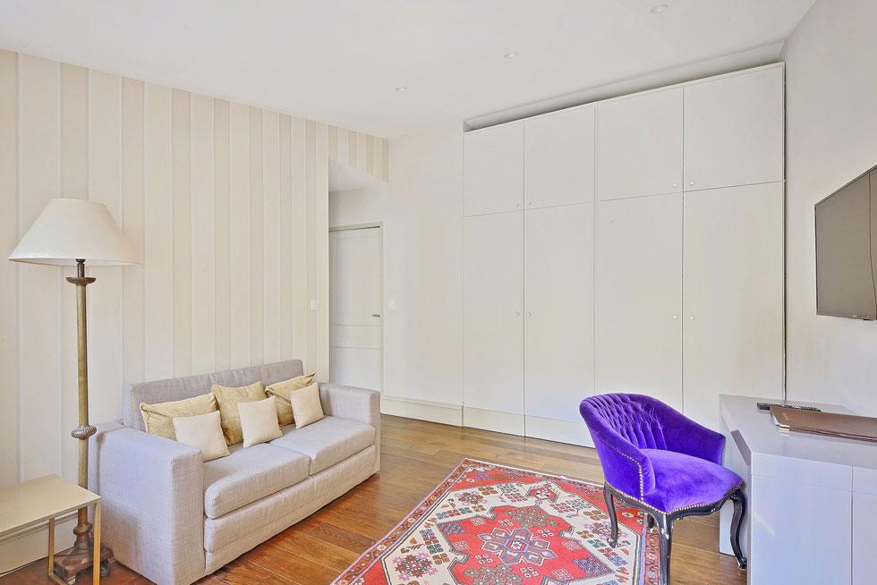 Le coin salon de l'Appartement et son intimité - Villa Victor Louis
