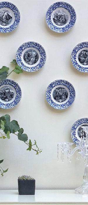 L'art à la Villa: collection d'assiettes des signes astrologiques de la manufacture de faïence du bordelais Jules Vieillard - Villa Victor Louis