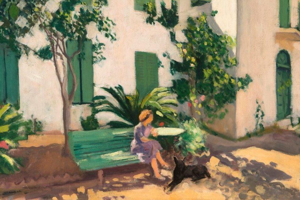 L'art à la Villa : une gouache du bordelais Albert Marquet - Villa Victor Louis